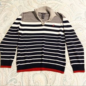 Nautica Quarter Zip Sweater
